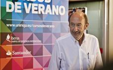 Homenaje a Pérez Rubalcaba en la UR
