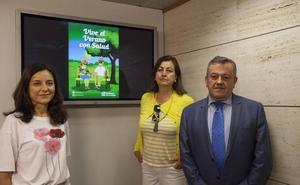 La campaña 'Vive el verano con salud' se centra en personas de mayor edad
