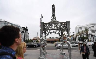 Roban la estatua de Marilyn Monroe en el Paseo de la Fama de Hollywood