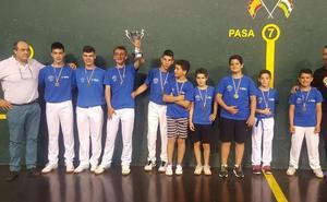 La final de Escuelas Honor del Torneo Caja Rioja dejan al Barberito I en lo más alto
