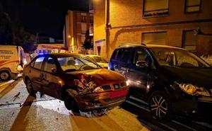 Denunciado en Calahorra por conducir drogado, con un arma blanca, la matrícula ilegible y la ITV caducada