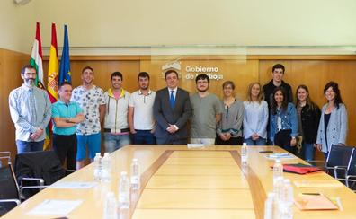 El regreso de los Erasmus+ riojanos