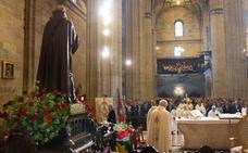 Los jarreros honran a su patrón con una misa y una procesión