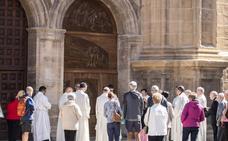Quince mil personas han cruzado ya la 'Puerta del Perdón' de Santo Domingo
