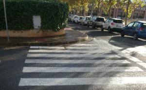 La Guindilla: pasos de peatones accesibles