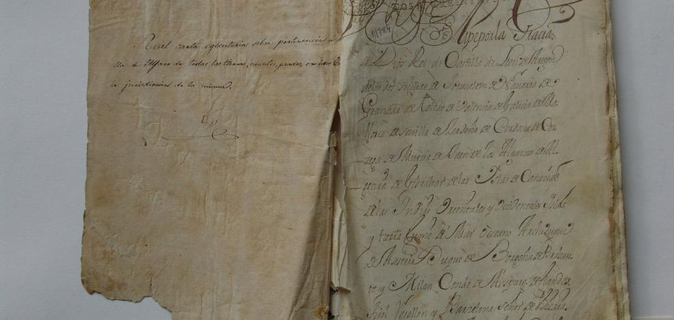 El Portal Digital custodia el archivo de Alfaro desde 1433