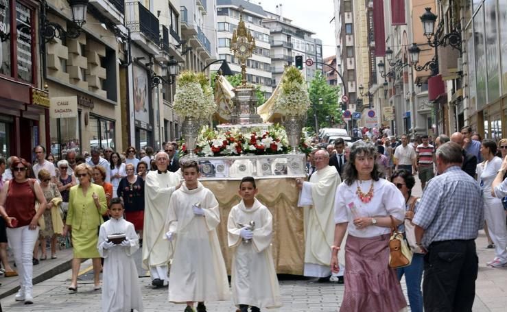 El Corpus se celebra en Logroño