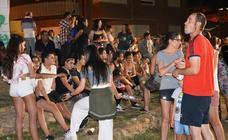 Calahorra celebra San Juan con una hoguera