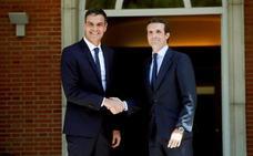 Sánchez y Casado se reúnen de nuevo en la Moncloa