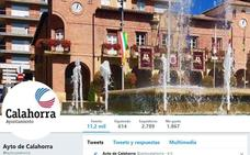 El Ayuntamiento de Calahorra recupera su cuenta de Twitter