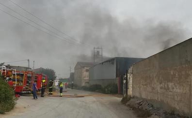 Incendio en Filtromatic en Alfaro