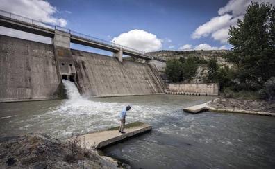 Finalizan las obras de impermeabilización y drenaje de la presa de Leiva