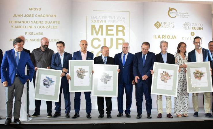 El Club de Marketing de La Rioja entrega los premios Mercurio