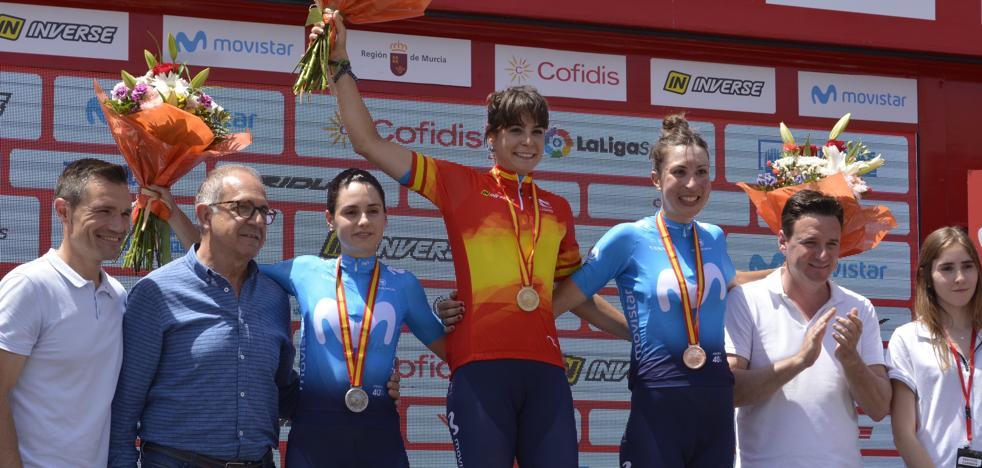 Sheyla Gutiérrez, campeona de España contra el crono