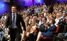 Casado impulsará la renovación de estructuras territoriales del PP