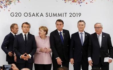 Juncker defiende el multilateralismo comercial tras el pacto con Mercosur
