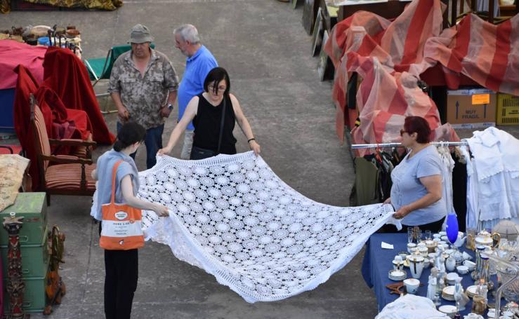 Munilla ha acogido la X Feria Internacional de Antigüedades