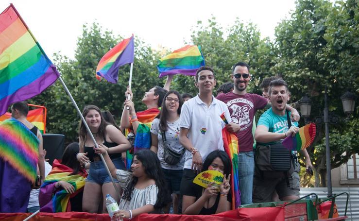 Manifestación de orgullo