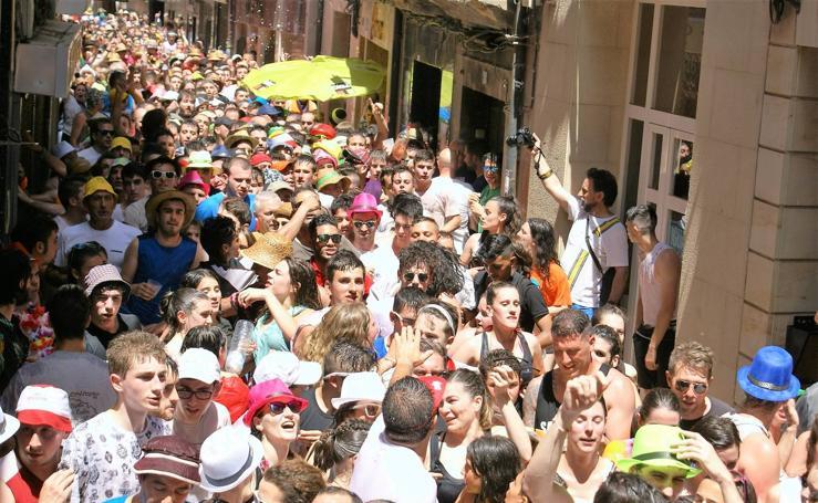 Las Vueltas de San Pedro de Nájera, en imágenes