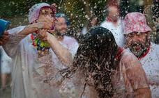 Lluvia de alegría en San Felices