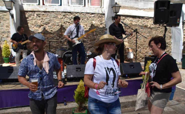 El festival Son de Luna llenó de música Cornago