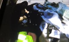 Herido un vecino de Barcelona en un accidente en Agoncillo