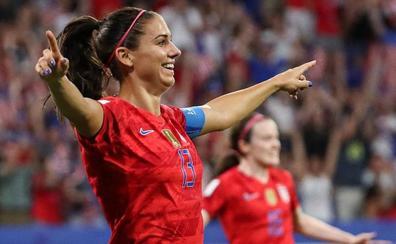 Estados Unidos derrota a Inglaterra y disputará la final del Mundial