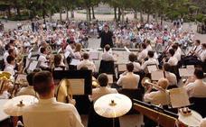 La Banda de Música de Logroño, los jueves en el Espolón