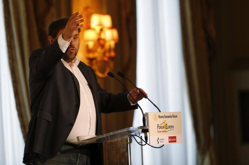 El tribunal de Luxemburgo admite el caso Junqueras