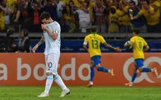 La enésima decepción de la Argentina de Messi, al que se le acaba el tiempo