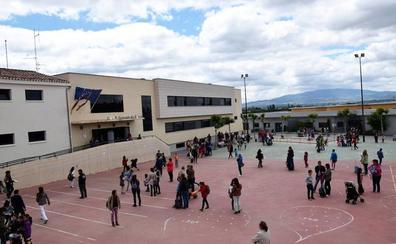 Villamediana rehabilita los patios del CEIP Gonzalo de Berceo