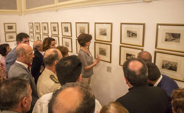 Santo Domingo expone los grabados de Goya