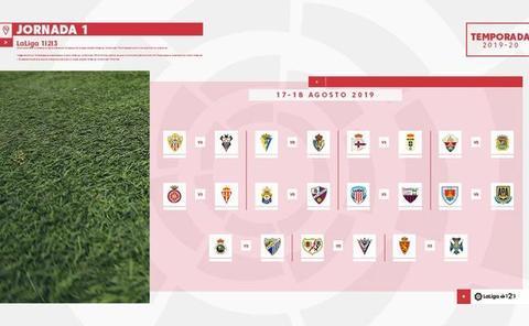 Dépor-Oviedo, Las Palmas-Huesca y Rayo-Mirandés, en la primera jornada