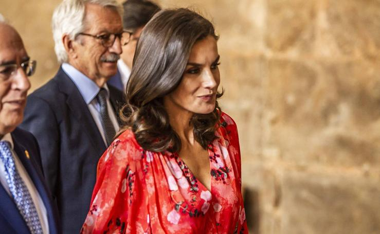 La Reina Letizia visita Yuso