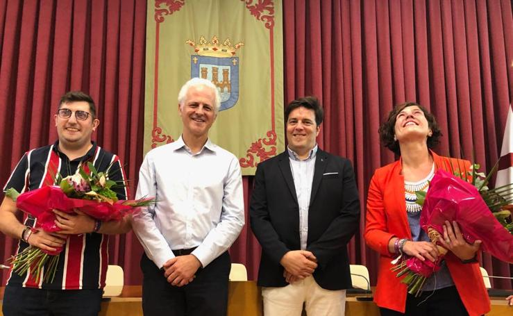Noelia Heras Terreros y Cristian Ortega Pérez, Vendimiadores 2019