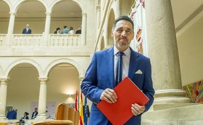 García convoca el lunes a los portavoces de PP, C's, PSOE y Grupo Mixto de la investidura