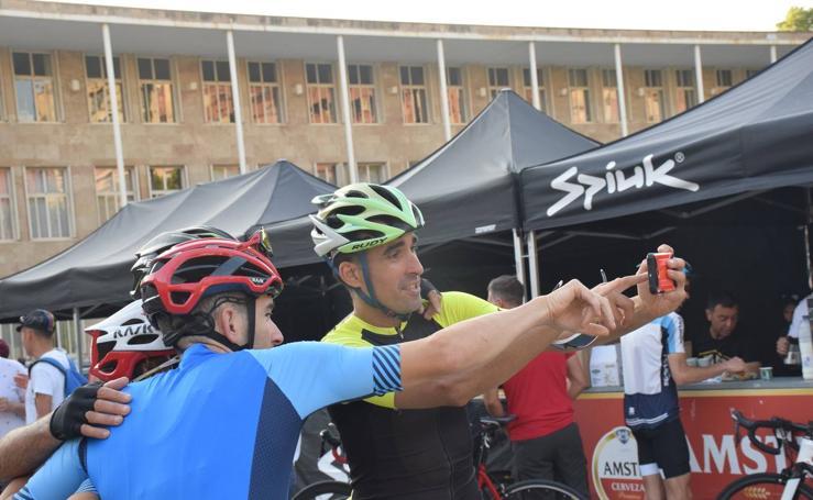 La tercera cicloturista de La Rioja