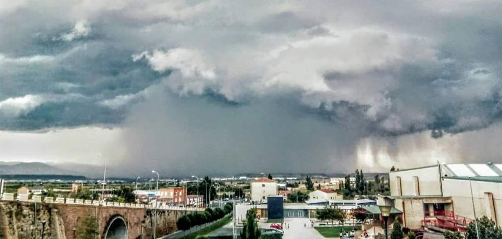 AEMET activa el aviso amarillo por tormentas y granizo para La Rioja
