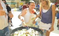 Concurso de paellas en Lardero