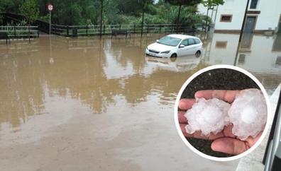 Tiempo de fuertes tormentas en La Rioja