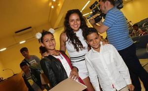 Vacaciones en paz en La Rioja para 44 niños saharauis