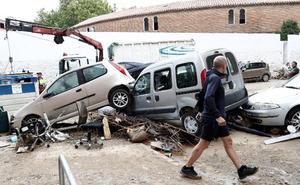 Navarra afronta la reparación de daños tras la riada del lunes