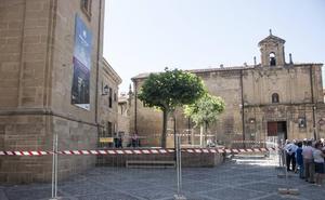 La torre exenta de Santo Domingo será objeto de obras de emergencia por desprendimientos