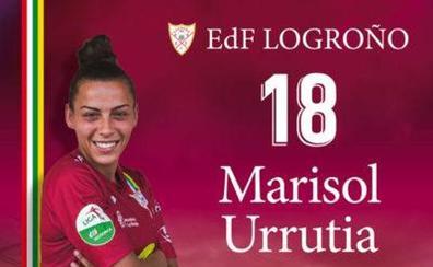 Marisol Urrutia no continúa en el EDF Logroño