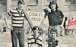 El grupo The Armstrong, en 1972