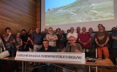 Un grupo de personas pide a CVNE que se respete el paisaje del castillo Davalillo