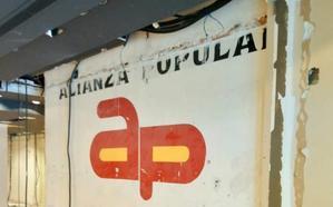 La tienda que ocultó la sede de Alianza Popular