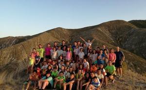Alumnos del COAMI, de campamento en Aguilar