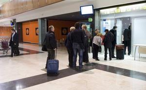 10.592 viajeros han utilizado el aeropuerto de Agoncillo entre enero y junio