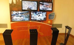 Cuatro cámaras permiten acercarse a los nidos desde el centro de interpretación